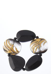 Tiger Stripe Stretch Bracelet