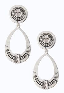 Western Tear Shaped Earrings