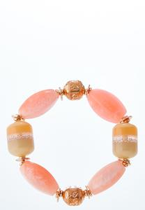 Sparkle And Blush Stretch Bracelet