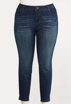 Plus Extended Curvy Skinny Jeans