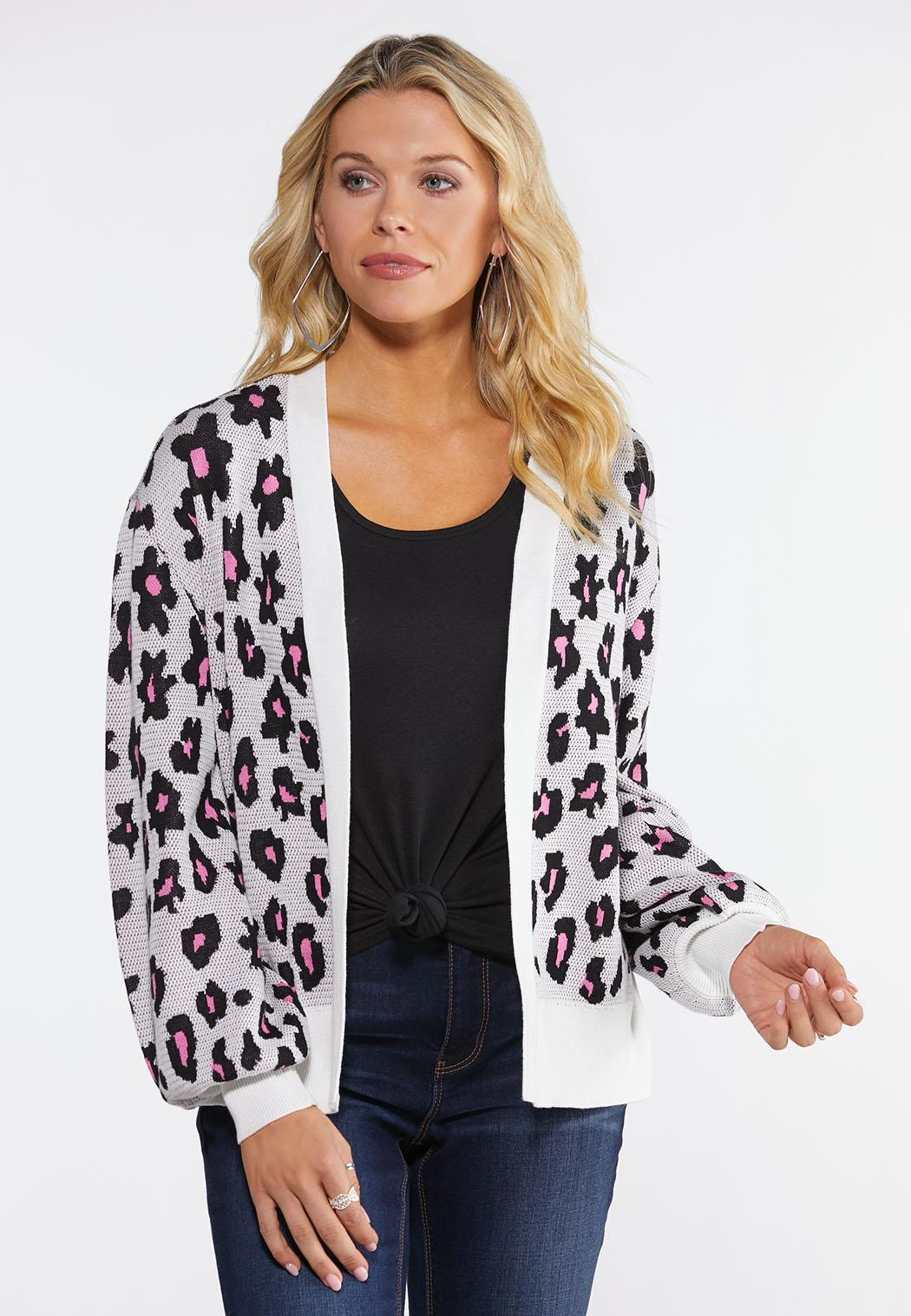 Blossom Leopard Cardigan