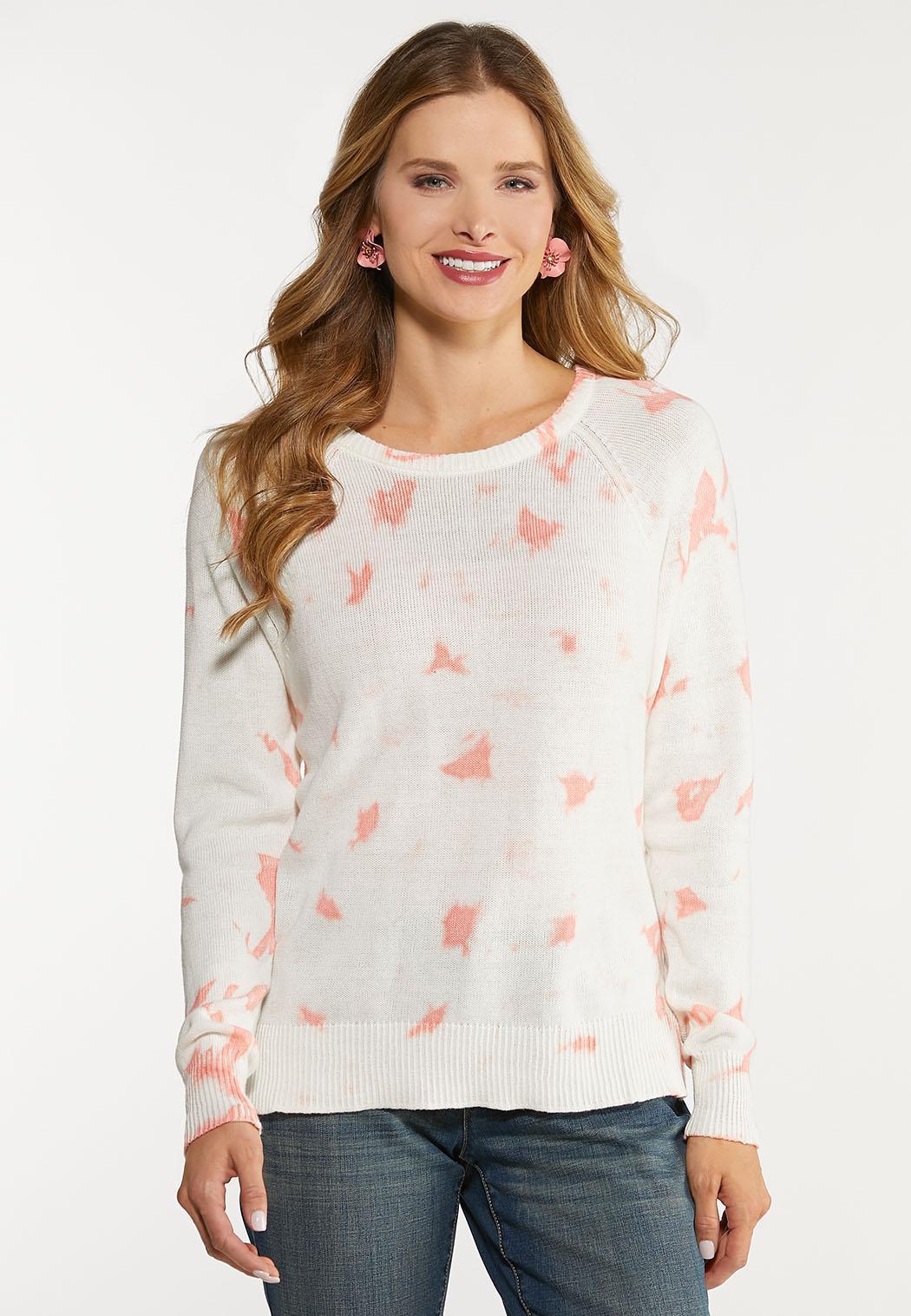 Pink Tie Dye Sweater
