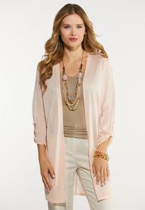 Sheer Cardigan Sweater
