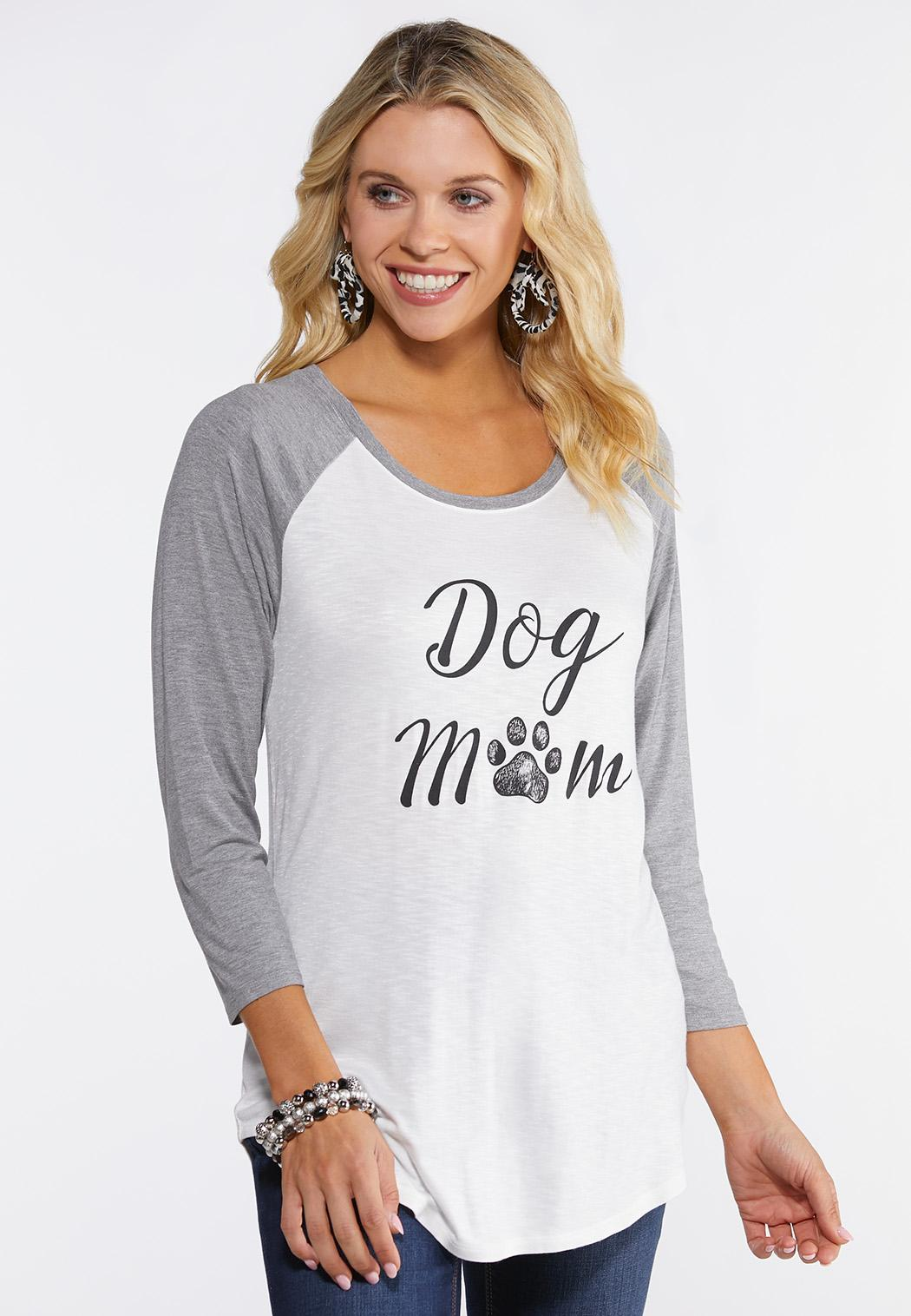 Dog Mom Graphic Top