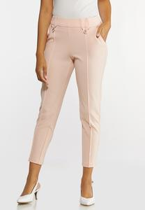 Slim Button Loop Pants