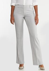 Gray Trouser Pants