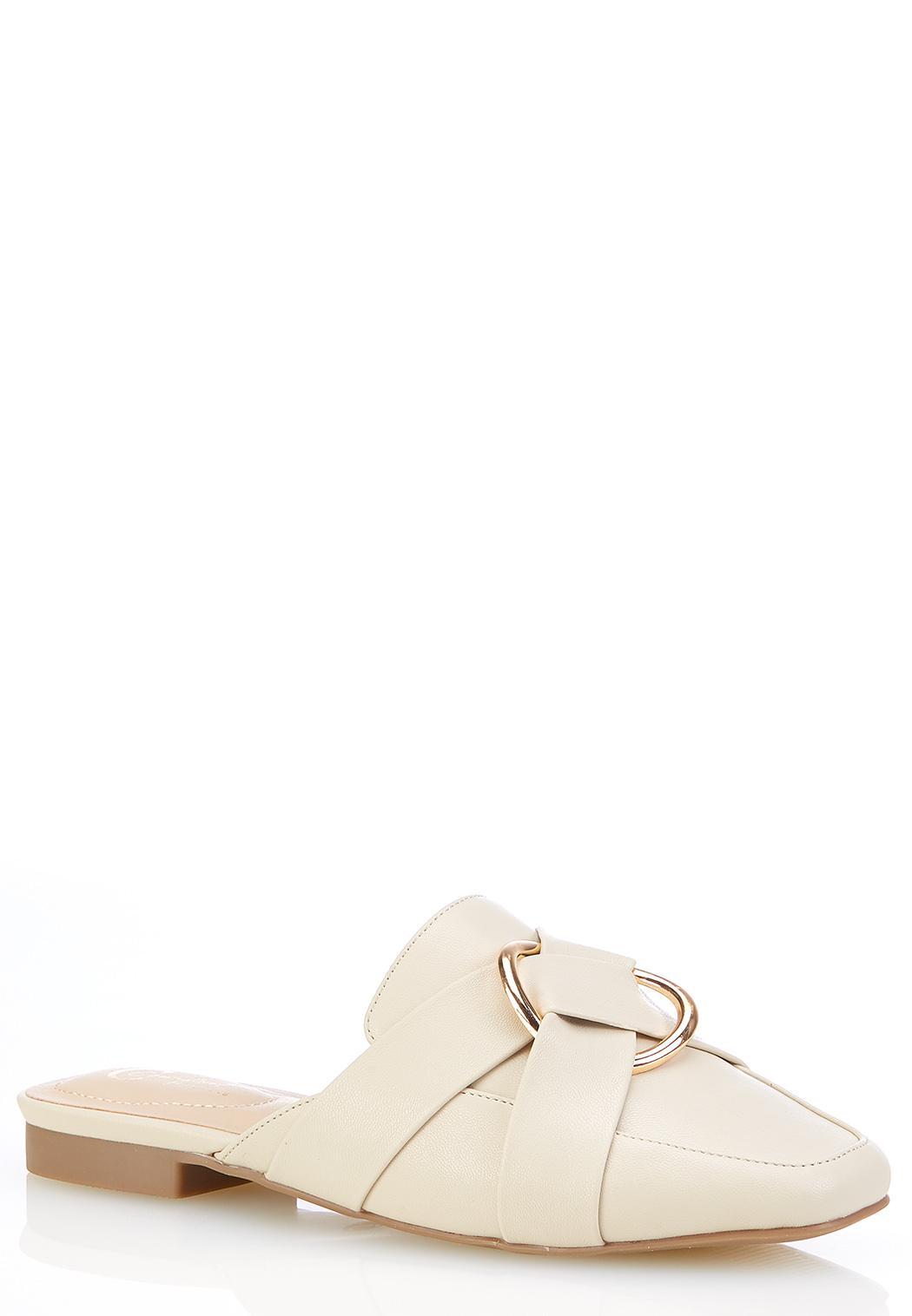 Wide Width Hoop Detail Loafers