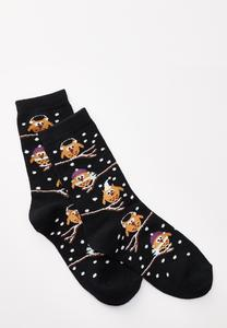 Owl Branch Socks