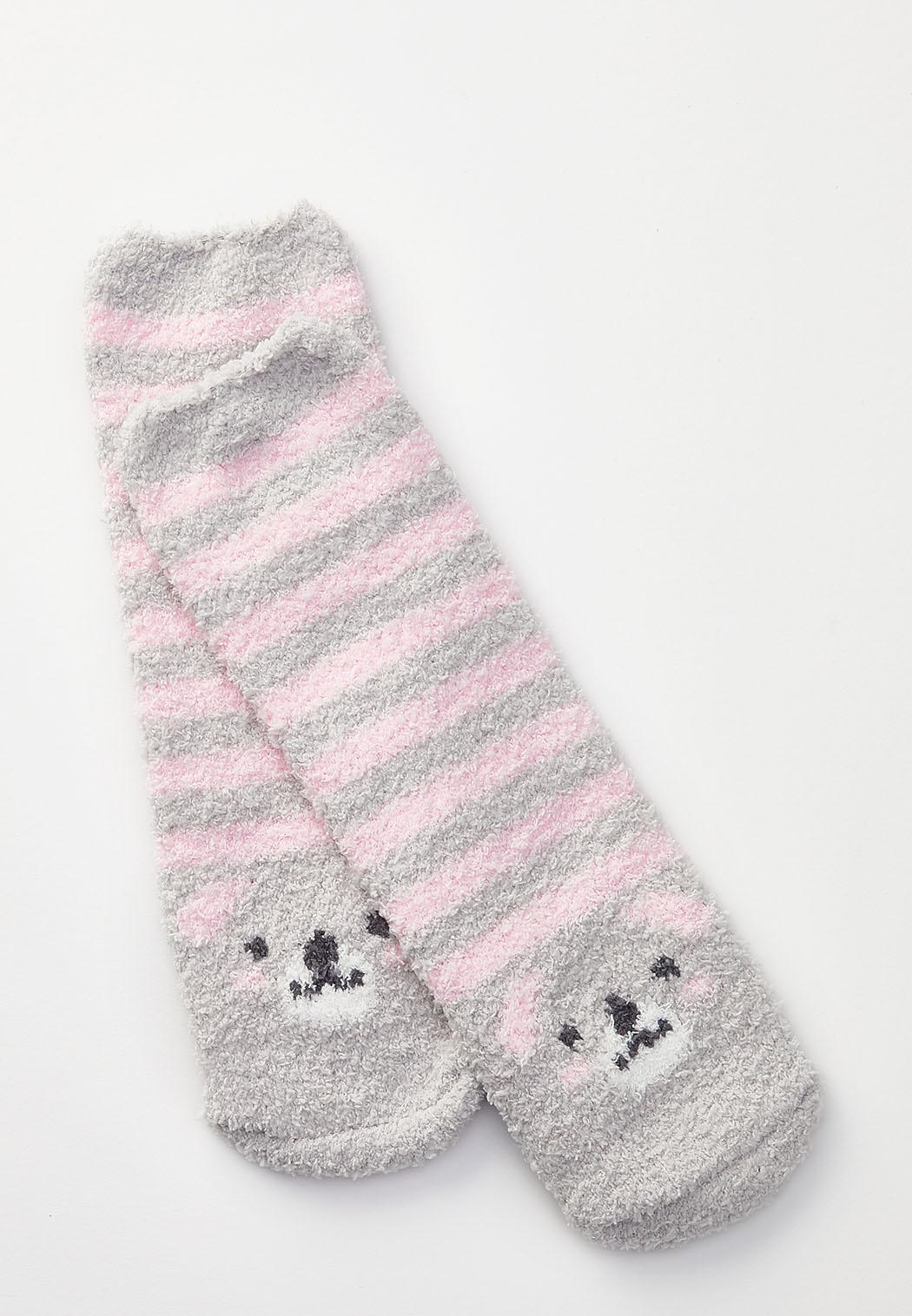 Koala Stripe Cozy Socks