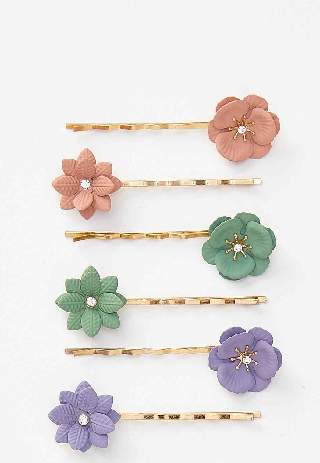 Flower Hair Pin Set