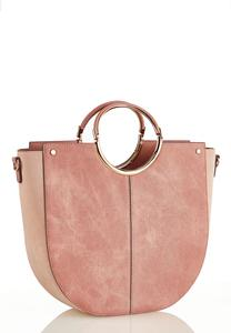 Pink Oversized Satchel
