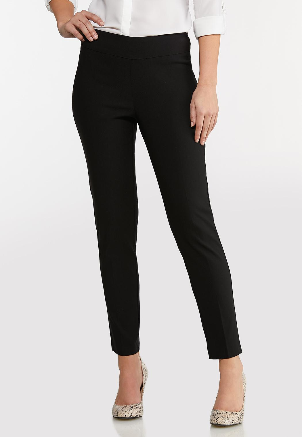 Pull-On Slim Leg Pants