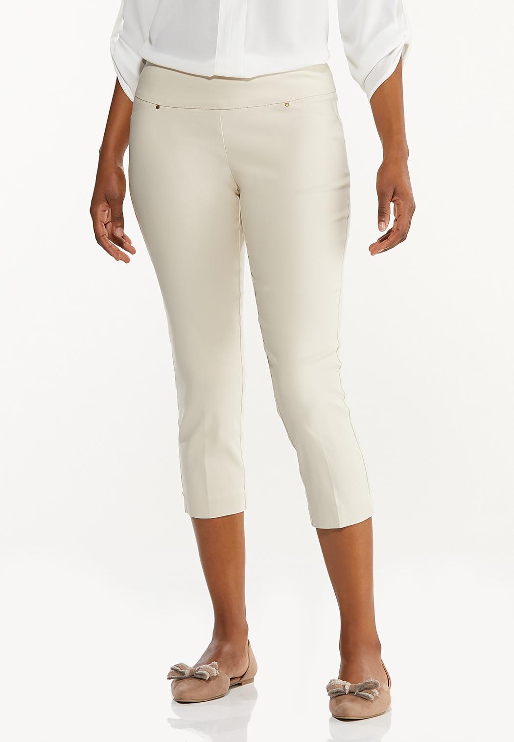 Cropped Bengaline Pants