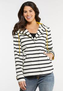 Stripe Rain Jacket