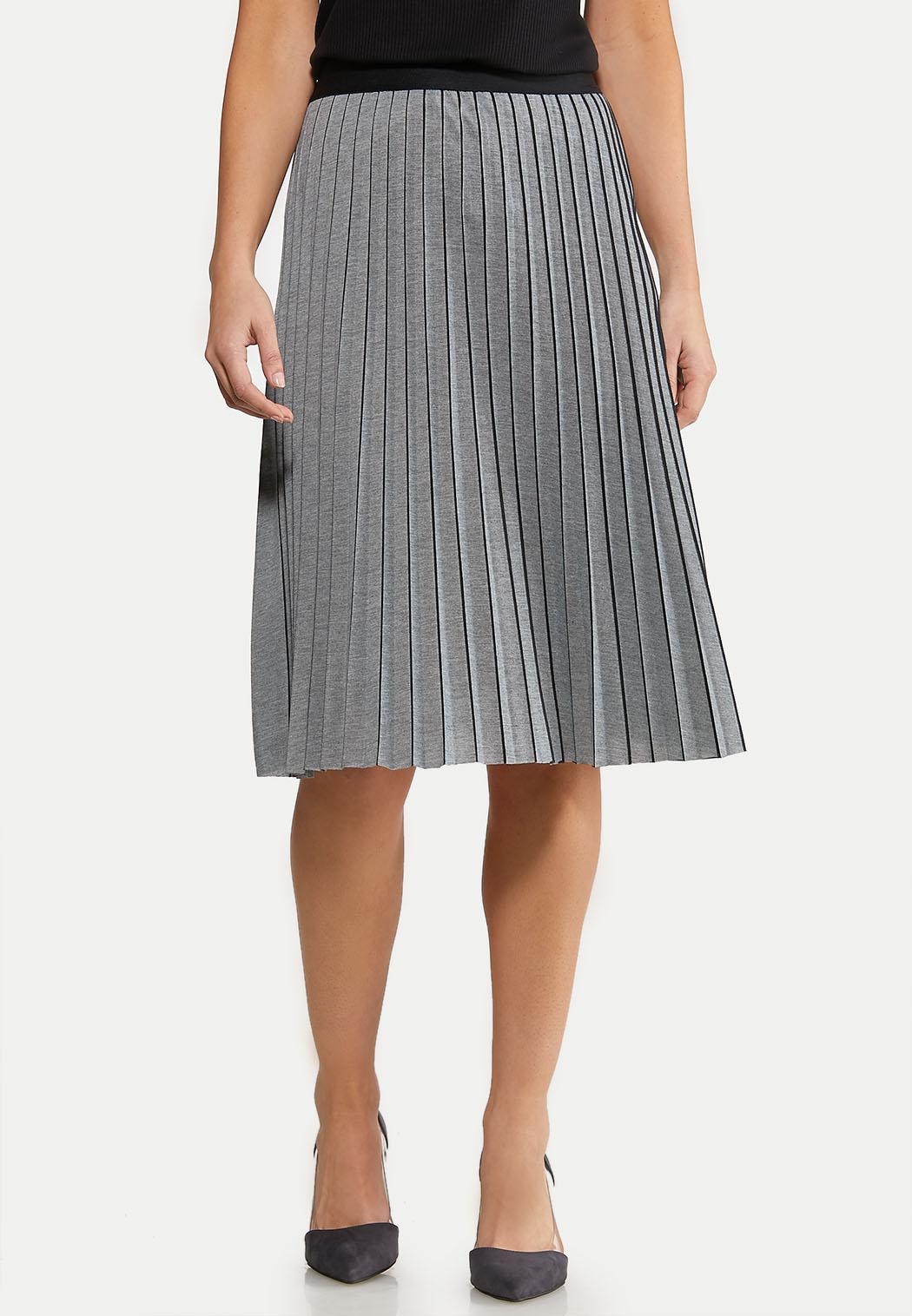 Heather Pleated Skirt