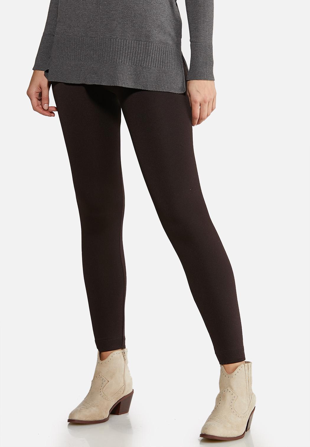 Solid Fleece Leggings