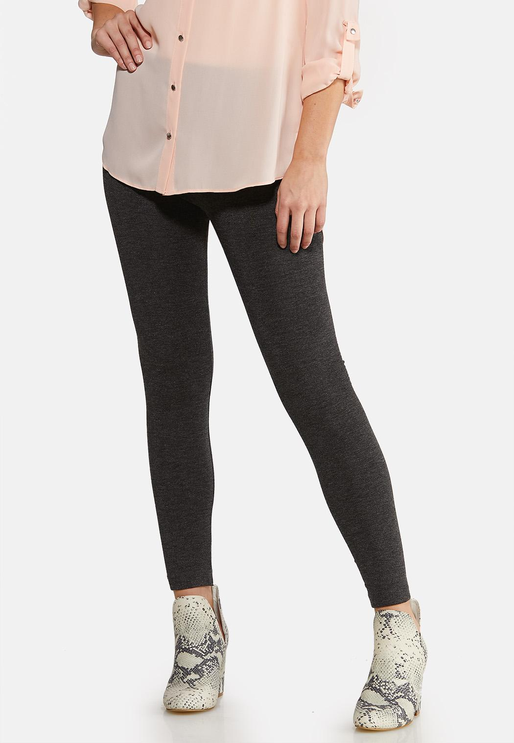Charcoal Fleece Leggings