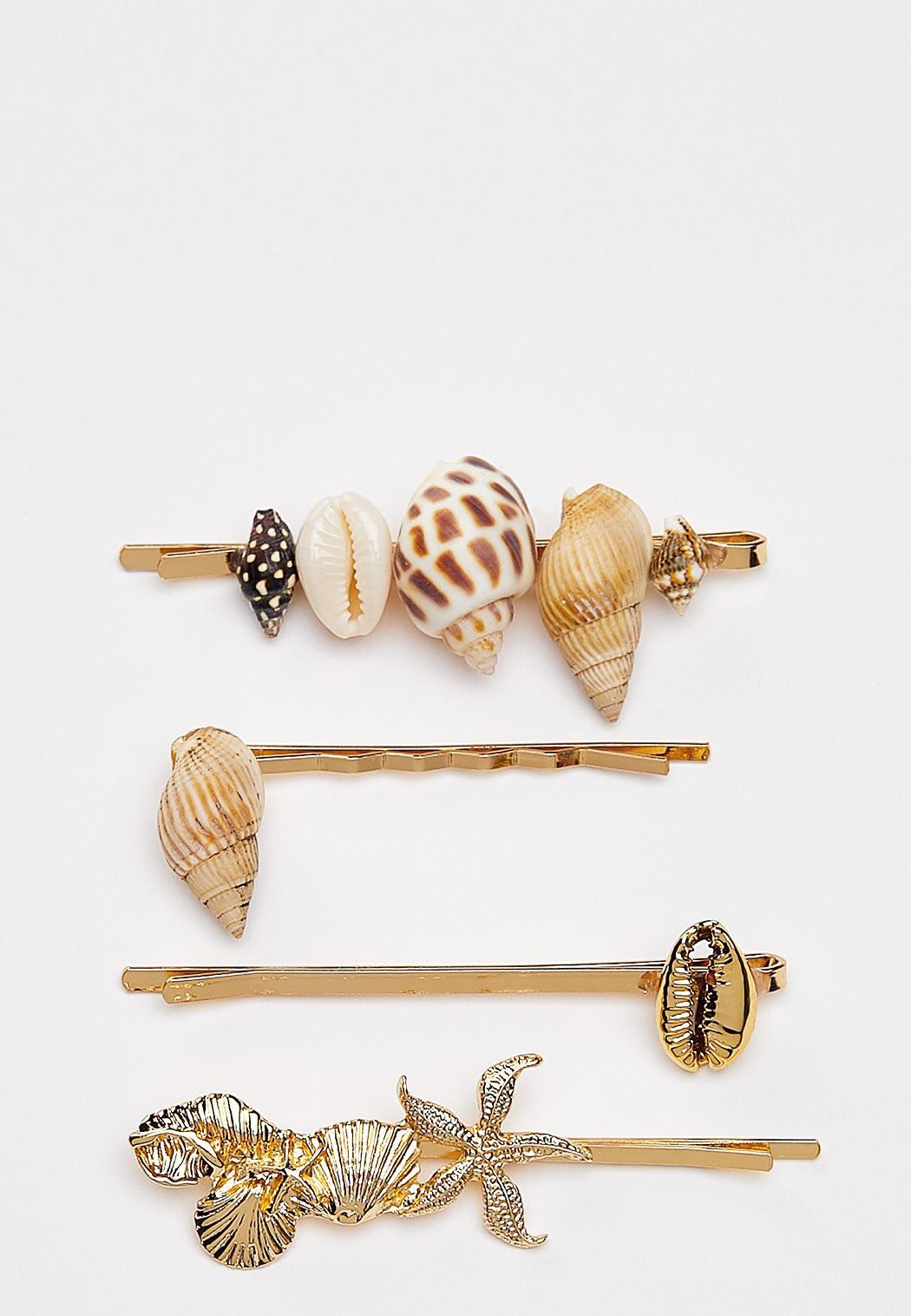 Seashell Hair Pins
