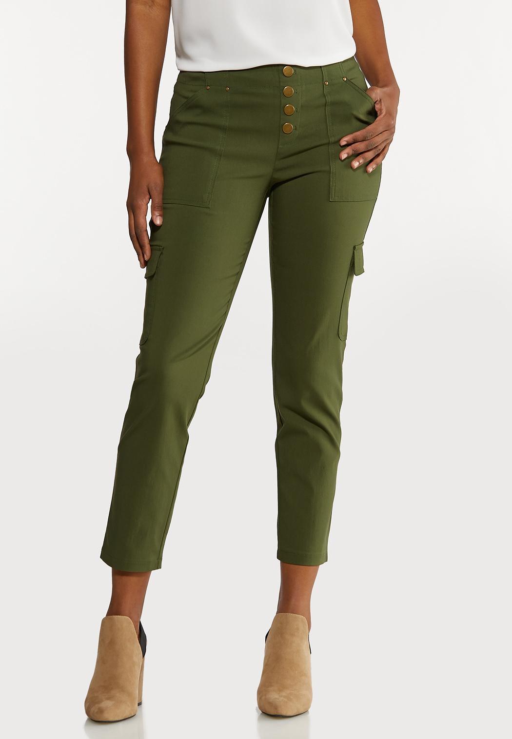 Button Fly Utility Pants