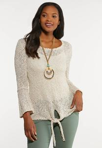 Relaxed Bell Sleeve Sweater