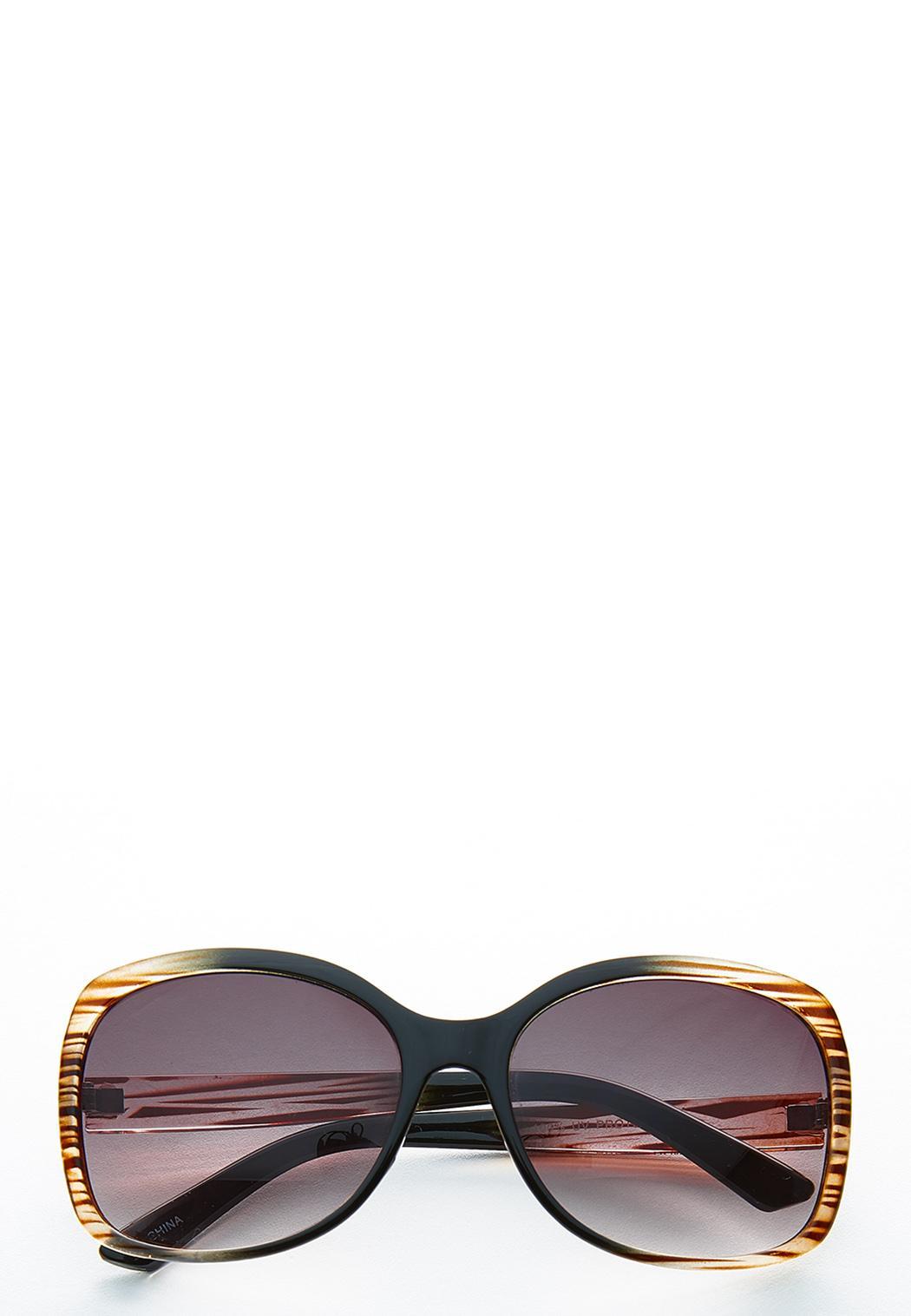 Ombre Square Sunglasses