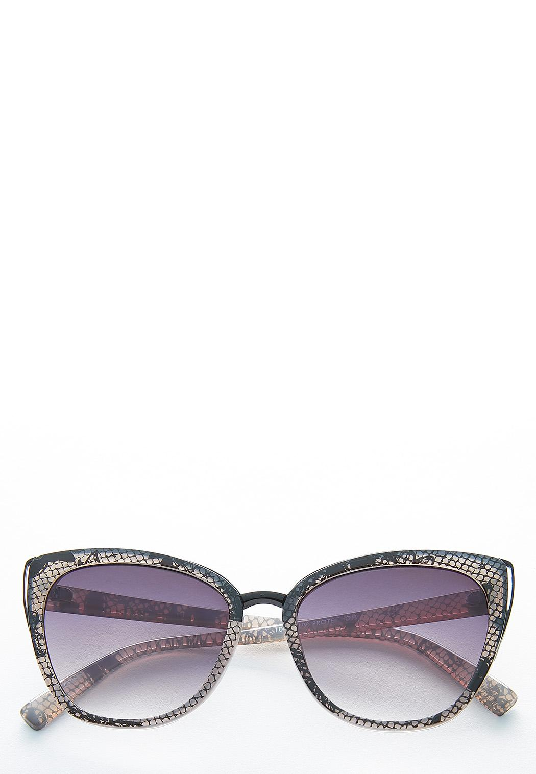 Snakeskin Cateye Sunglasses