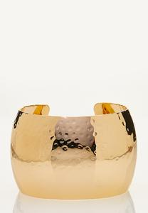 Wide Statement Cuff Bracelet