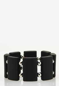 Rubber Plate Stretch Bracelet