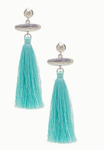 Beachy Vibe Tassel Earrings