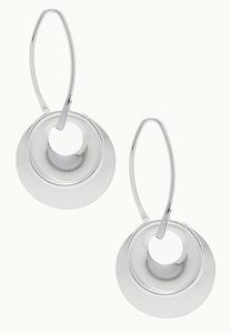 Mod Hoop Dangle Earrings