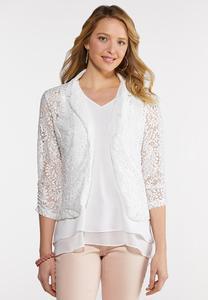White Lace Jacket