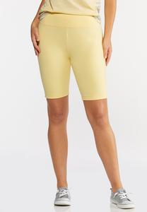 Pull-On Stretch Shorts