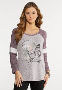 Plus Size Live In The Moment Top