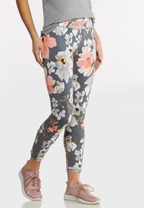 Bold Floral Leggings