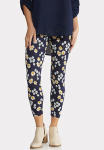 Daisy Dream Cropped Leggings