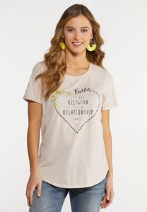 Faith Heart Tee