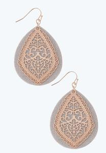 Layered Filigree Earrings