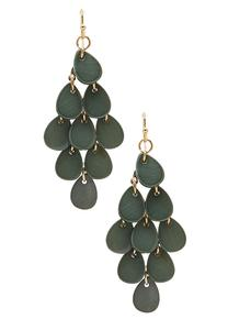 Shaky Shell Chandelier Earrings