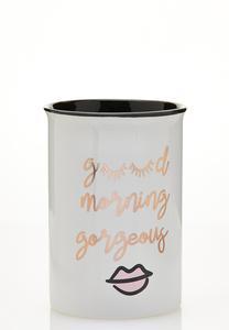 Good Morning Ceramic Holder