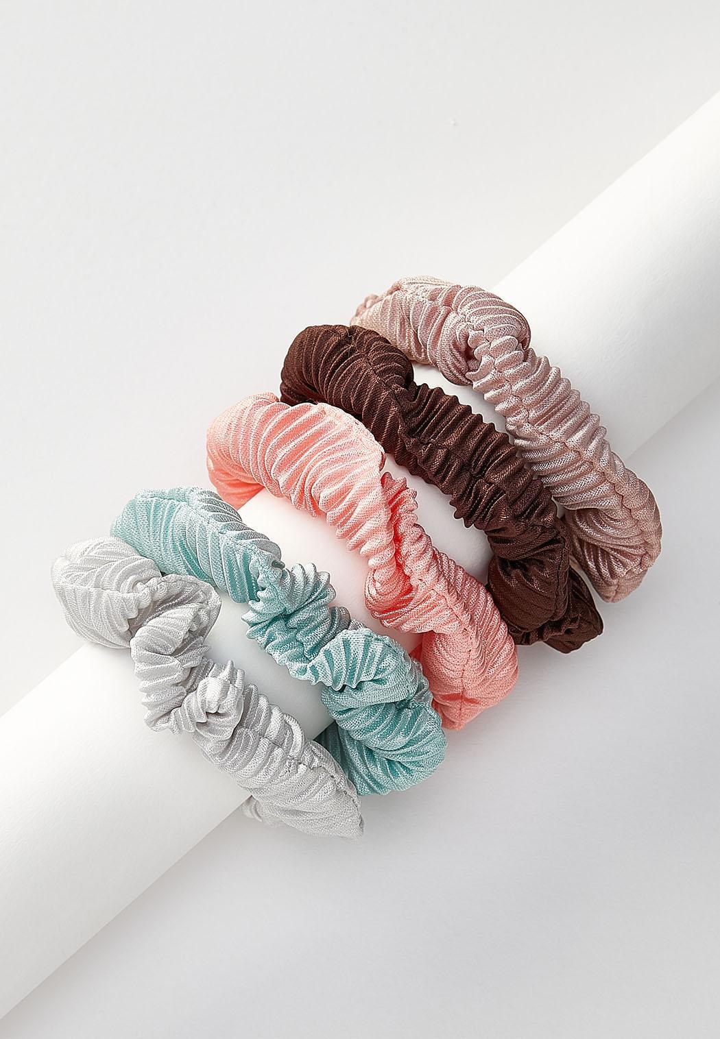 Pleated Scrunchie Set