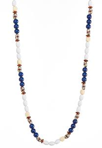 Long Multi Beaded Necklace