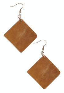 Dangling Square Earrings
