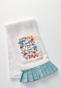 Good Friends Decorative Towel