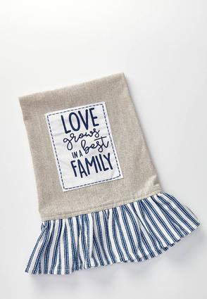 Love Grows Decorative Towel