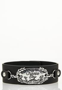 Choose Joy Snap Bracelet