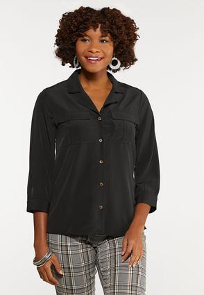Black Button Down Shirt