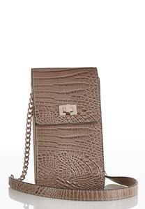 Croc Wallet Crossbody