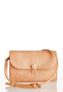 Textured Dome Crossbody