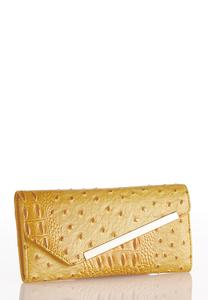 Golden Ostrich Wallet