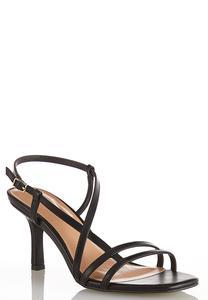 Strappy Square Toe Sandals